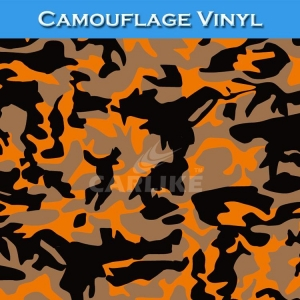 China Free Shipping CA020 Camouflage Vinyl Car Wrapped Sticker on sale