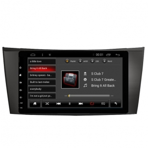 China 9inch Mercedes Benz E Class Android Car Stereo Radio GPS Navigation on sale