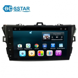 China Octa Core Toyota Corolla 2007 to 2011 Android Car Multi Media System Stereo GPS Player on sale