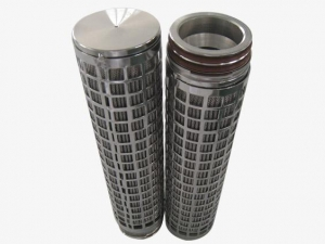 China 50 Micron Candle Polymer Melt Oil Filter Cartridge on sale