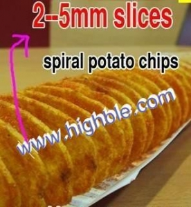 China spiral potato cutter on sale