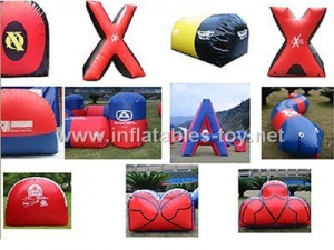 China Paintball bunker,Inflatable Paintball Game PB-02 on sale