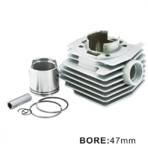 China Nikasil Scooter Cylinder Only for MBK AV10 47MM on sale
