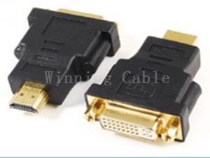 China HDMI Cable HDMI Male to DVI(24+5) Female Adaptor on sale