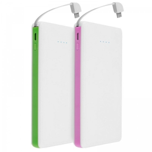 China Slim Power Bank 8000mAh Portable Power Bank Charger on sale