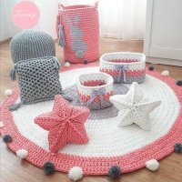 Fabric Yarn ( blanket, collecting basket)