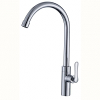 Kitchen Faucet Brushed Nickel Single-cold Kitchen Faucet