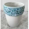 China Wholesale Top Quality Blue Ceramic Flower Vase for sale