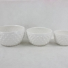 China Personalized white ceramic wedding bowl for sale