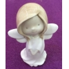 China Pretty Ceramic Child Fairy Sculpture For Decoration for sale