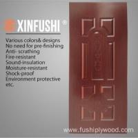 China HDF/MDF Moulded Veneer Door Skin by Ash/Teak/Sapeli/Oak on sale