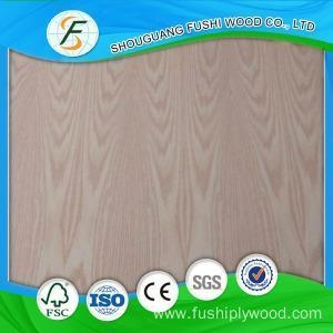 China 12MM Red Oak Veneered Plywood on sale