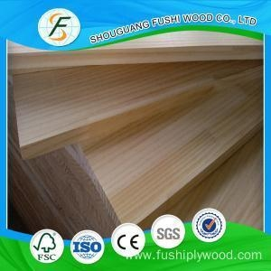 China 1220*2440*8mm Pine Finger Joint Board Glulam Board on sale