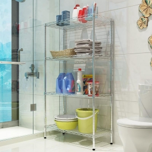China KR 009 Heavy duty display wire metal shelving for storage and shopping on sale