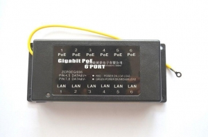 China 6port Gigabit passive poe injector on sale