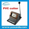 China Top Guality Manuel Easy Operate PVC card cutter/cutting machine for sale