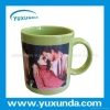 China UV & Sublimation Blanks Color changing coating mug for sale