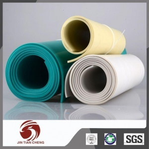 China Good Insulation Thick Flexible White PVC Plastic Sheet Roll on sale