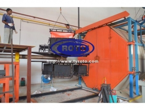 China Used Rotational Moulding Machine Sales Used Rotational Moulding Machine Sales on sale