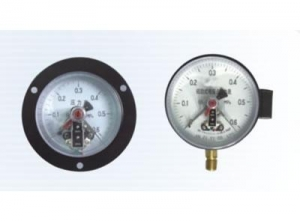 China Pressure instrument YXC magnetic assist pressure gauge on sale