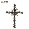 China Iron Wall Hanging wholesale Handcraft cross Metal home art decoration for sale