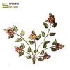 China Iron Wall Hanging wholesale Iron flower Indoor Wall metal decorative art for sale