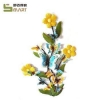 China Iron Wall Hanging Popular Home Decoration Iron art wall metal butterfly for sale