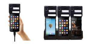 China Mobile Computer Fingerprint Android Mobile POS Terminal UHF 2D Scanner on sale