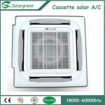 48000BTU Cassette Type ACDC On Grid Photovoltaic Solar air conditioner