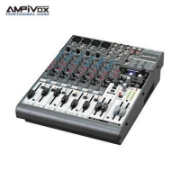 Professional digital 6channel 4mono+2stereo usb music mixer interface for sale