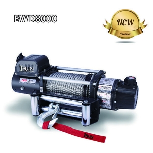 China 2 Speed Electric Winch Dual Speed Electric Recovery Winch 8000lbs With New Design Clutch on sale
