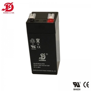 China 4v 4.5ah rechargeable sealed lead acid battery on sale