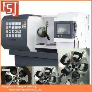 China CNC Alloy Wheel Lathe on sale