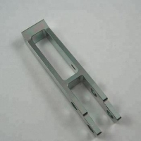 China custom CNC machine center CNC milling process Stainless steel customized brackets with Zinc coated on sale