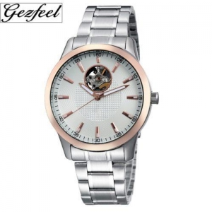 China Gezfeel skeleton automatic mechanical watches on sale