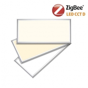 China Ultra Slim Recessed 595x1195 ZigBee Color Changing LED Panel Light 60x120 on sale