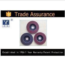 China Polishing Material TRADE ASSURANCE Nylon polishing wheel Abrasive buff wheel on sale