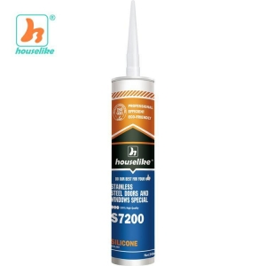 China S7200 Stainless steel doors and windows silicone sealant adhesive on sale