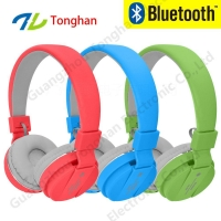 Wireless sport bluetooth headphone blue tooth headset with fm radio