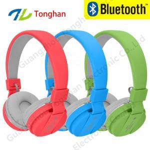 China Wireless sport bluetooth headphone blue tooth headset with fm radio on sale