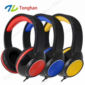 China Brand new extra bass headphone wired headphone with HD sound on sale