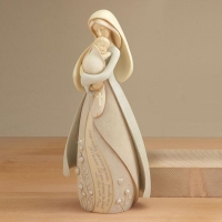 China craft and craft Resin Mary And Baby Jesus Statue Figurine on sale
