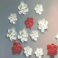craft and craft Custom Interior Wall Design Resin Flower Wall Decor