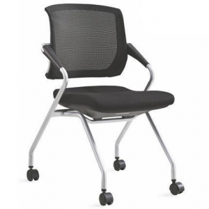 China Health China Office Conference Chair Training Folding Seating Caste on sale