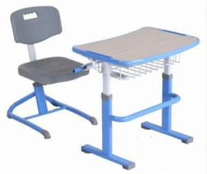 China Istudy Ergonomic School Desk and Chair Education Furniture HYA-105 on sale