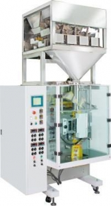 China Automatic Bag Forming Electronic Weighing Filling Packaging Machine on sale