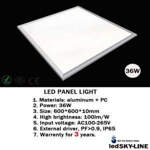 China 36W LED PANEL LIGHT on sale