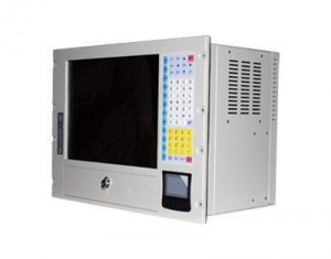 China 8U Rackmount 15 inch TFT LCD All In One PC Workstation on sale
