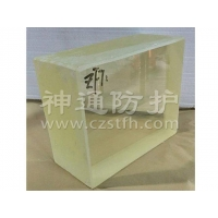 X-ray shielded lead glass ZF7 lead glass