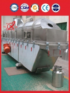 China dicyandiamide Vibrating Fluid Bed Dryer Equipment on sale